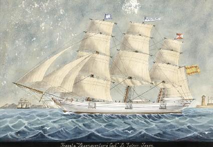 J. Barneda. Fragata