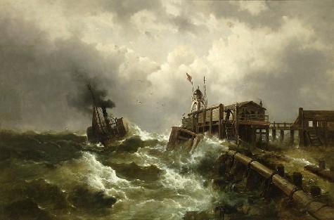 Enrico Baltazzi. Tempestat.