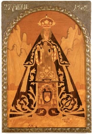 MARE DE DÉU DE MONTSERRAT. CASA ESTEVA, FIGUER I HOYOS c.1902  (62,5 x 413 cm).