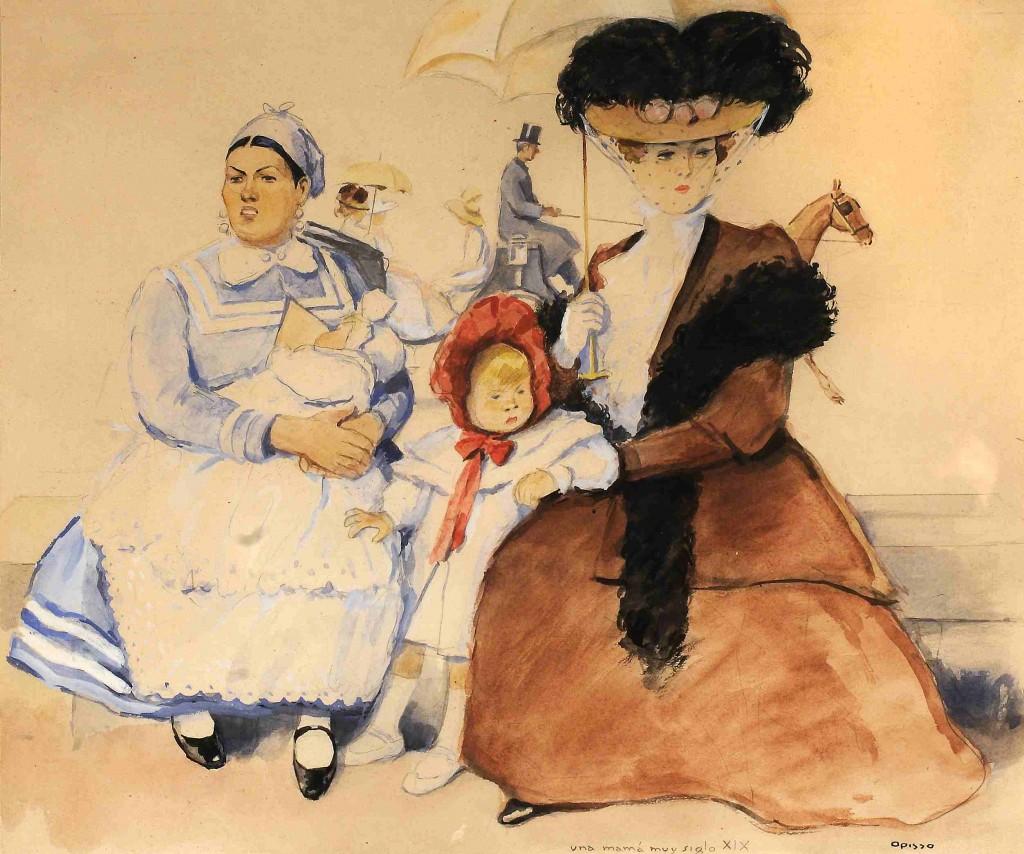 Una mamá muy siglo XIX