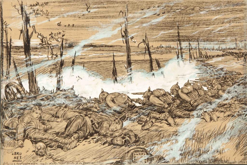 Composición según datos del frente de la guerra