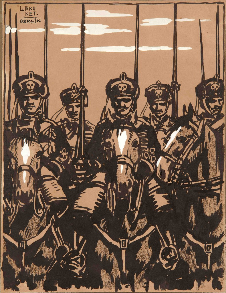 Lanceros de la muerte del ejército alemán- Berlín
