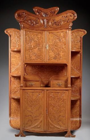 MOBLE DE DESPATX. JOAN BUSQUETS I JANÉ c.1900 (230 x 140 x 40 cm).