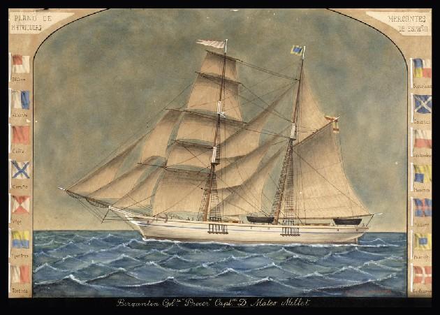 Josep Mongay Torné (1826-1902). Corbeta