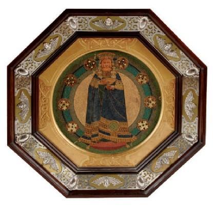 PLAFÓ. FRANCESC VIDAL I JEVELLI c.1899 - 1905 (57 x 57 cm)