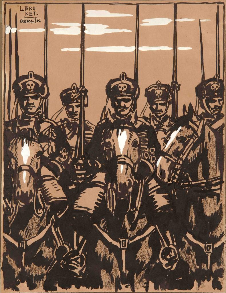 Lanceros de la muerte del ejército alemán